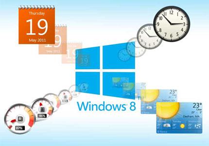 Desktop Gadgets For Windows 8